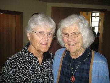 Anneliese Augustin (links) und ihre Schwester Ingeborg Fest-Festerling