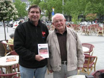 Friedrich Mevert (rechts) mit Manfred Wille