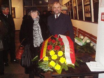 Horst Weiß (rechts) und Gisela Weiß