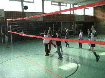 Die 4c ist in der Finalrunde bei unserer Westhagener Volleyball Pausenliga