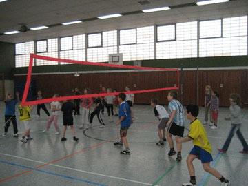 Die Rückrunde der Volleyball-Pausenliga an der Hans-Christian-Andersen-Grundschule beginnt
