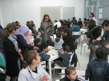 Viele Westhagener beim zweiten Ramadanfest auf dem Westahgener Markt