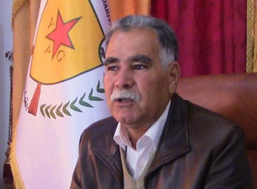 Kobanés forsvarsminister Ismet Sheik Hassan