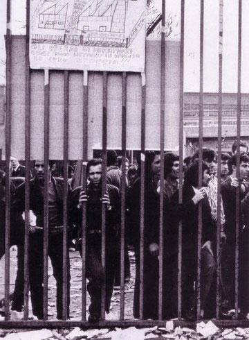 Strejkeramt Fiat-fabrik i Torino