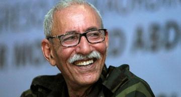 Saharawiernes præsident Brahim Ghali