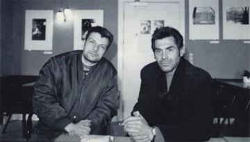 Christian og Werner Hoppe