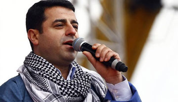 Den fængslede kurdiske HDP-leder Selahattin Demirtaş