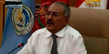 præsident Ali Abdullah Saleh