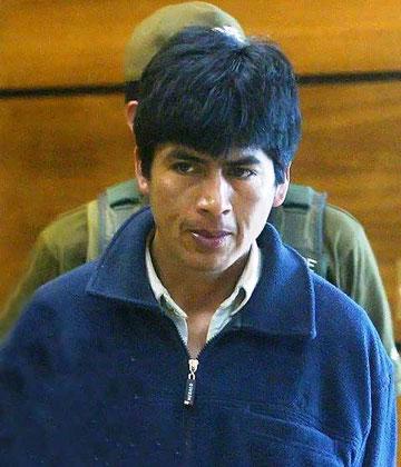 Den fængslede Mapuche aktivist José Huenchunao
