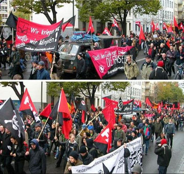 FAU - demoblok i Berlin