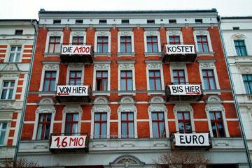 Typisk spekulationsobjekt i Berlin-Friedrichshain