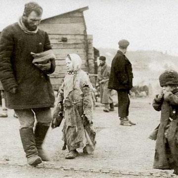 Bønder i Rusland omkring 1860