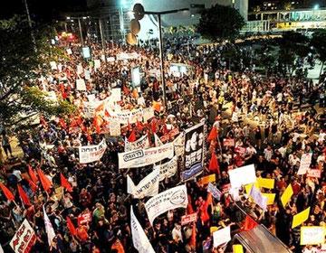 Demonstration i Tel Aviv i 2011