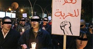 Demonstration mod Assad-regimet i Aleppo