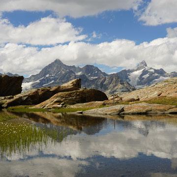 Zermatt Tiefenmatten Wandern Kinder