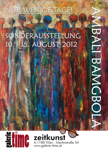 Galerie Time Ausstellung Vernissage Ambali Bamgbola