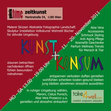 galerie time Kunst + Konsum präsentiert Darstellende Kunst und Lifestyle Wellness Schmuck Beauty von take4well.com