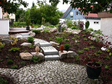 Hangg rten gartengestaltung heidle - Gartengestaltung app ...