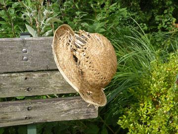 BoT, Buggy-on-Tour Hut, Ende einer Reise nach Sardinien, Frau Schildkrot und Herr Zeisig auf der Reise.