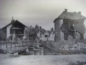 The Ill Bridge at the southern end of the town in 1944
