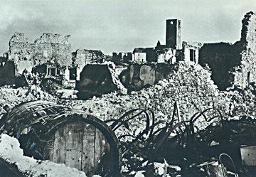 Sigolsheim in ruins