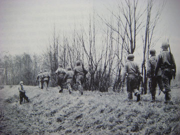 US patrol East of Selestat