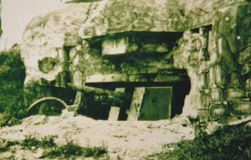 Azville casemate after the battle 1944