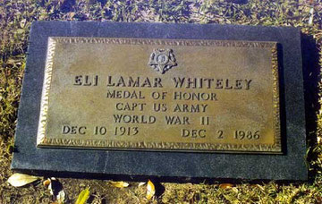 Whiteley Grave Marker