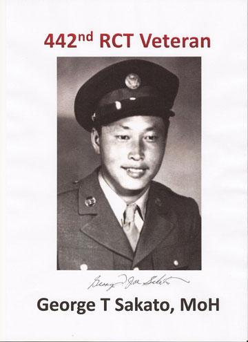 George T. Sakato - MoH