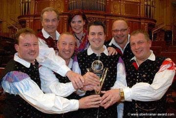 """SCHWARZWALDKRAINER - Gewinner des """"Oberkrainer Awards 2012"""""""