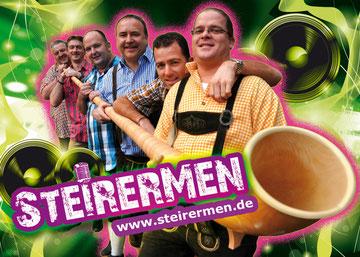 STEIRERMEN - neue Autogramkarte