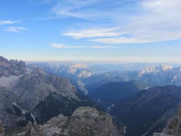 Grande view from Cima Grande.