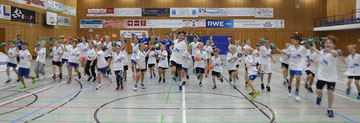 Camp Kids im 11. Königsdorfer Airportstaff Handballcamp