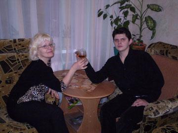 Сергей Лебедев праздничный стол