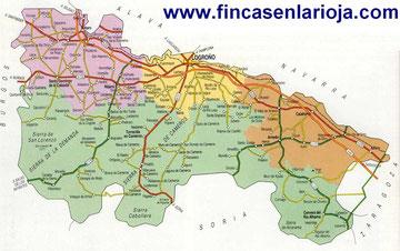 > ver Mapa de La Rioja