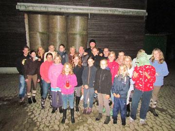 Zeltlager 2012 - Bereit zur Nachtwanderung