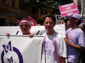 Irmã Ivanete em São Paulo