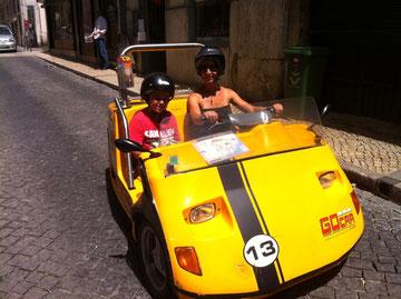 Die coolste Attraktion in Lissabon: Unterwegs mit demGocar