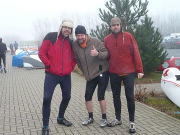 Unser Team: Ouestpilot, Buntekuhtreiber und Mangofahrer aus Oldenburg.