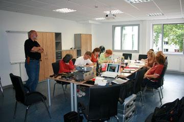 Theoretischer Unterricht im Bochumer Schauspielhaus