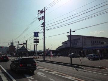 JR志度駅前です。