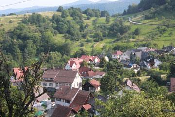 Blick zurück auf Lautenbach