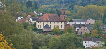 Unser Ziel: Das Kloster von Hornbach/Pfalz