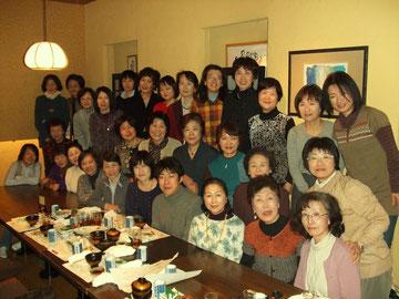 新年会 (海鮮市場にて) 2011年