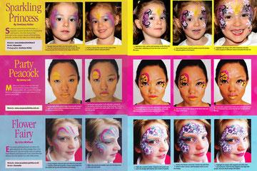 Kinderschminken, Kinderschminken vorlagen, Schminkfarben kaufen, Kinderschminken kurse, schminkfarben Schweiz