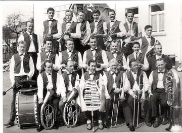 """Blasmusik """"Harmonie"""" um 1962"""