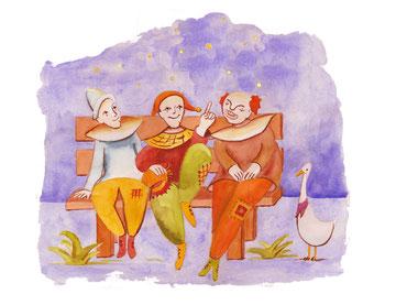 Die drei Clowns