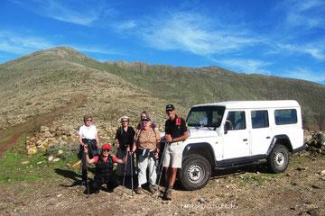 Geführte  Wanderungen in kleiner Gruppe auf Fuerteventura