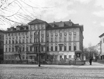 Das Place de Repos 1885