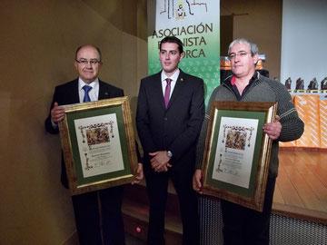 D. José Ros, D. Miguel Navarrete y D. Francisco J. Carrillo